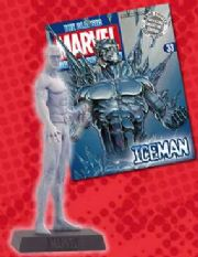 Classic Marvel Figurine Collection #033 Iceman Eaglemoss Publications